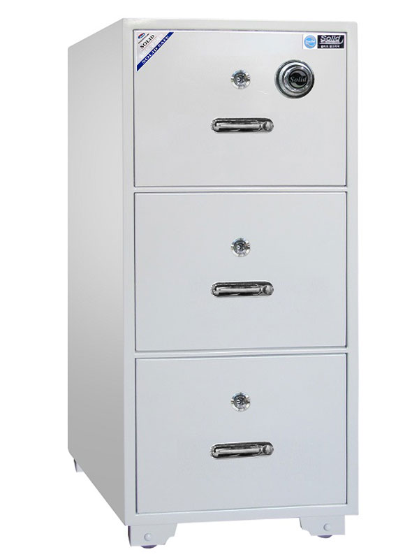Két sắt Cabinet Solid 3 tầng SLH-300